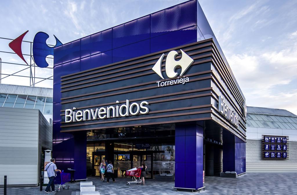 Fachadas Carrefour Torrevieja – Alicante