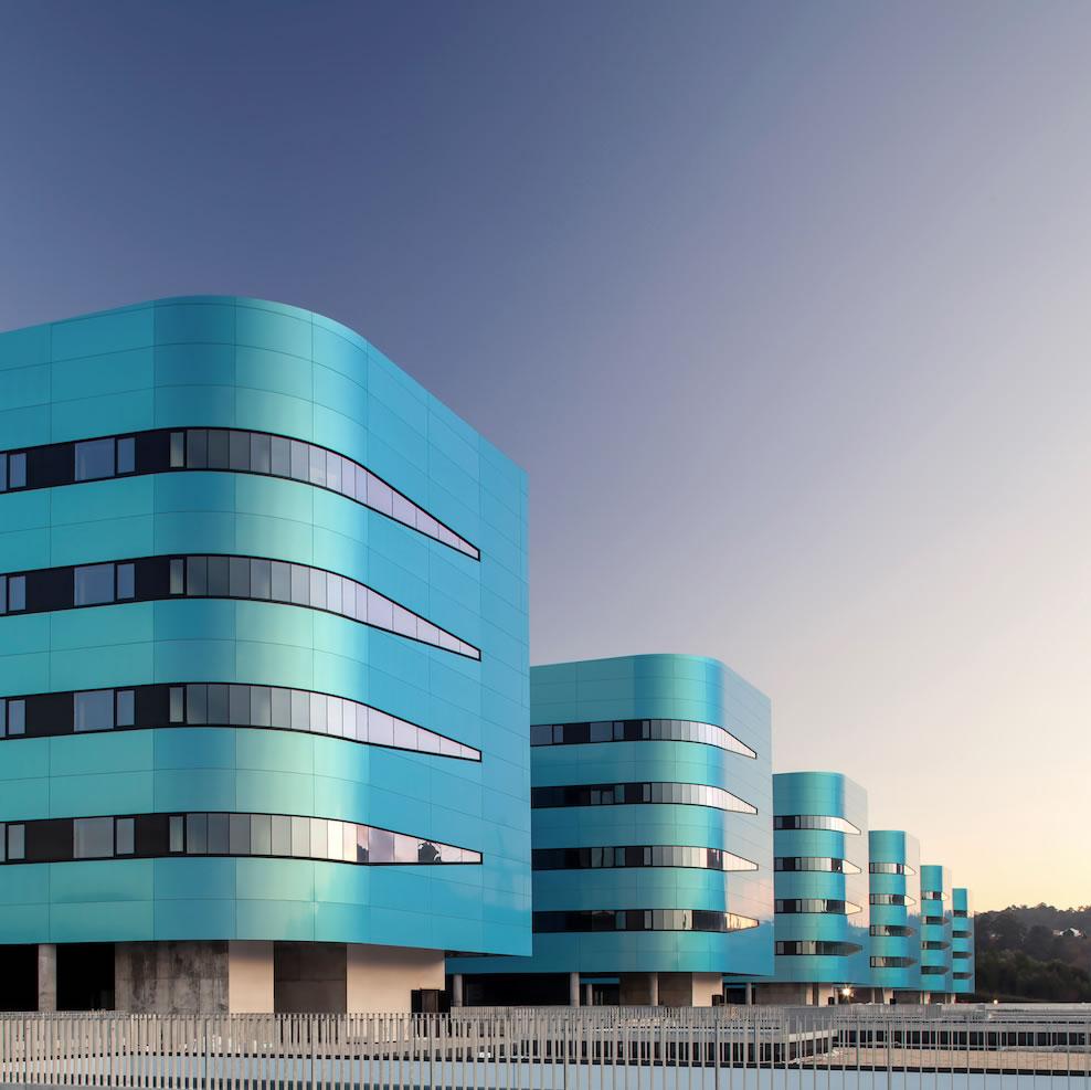 Fachadas Hospital Álvaro Cunqueiro – Vigo
