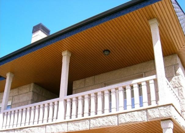 Techos de calidad con lamas y bandejas de aluminio lema for Lamas aluminio techo